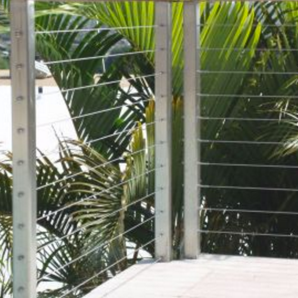 Stainless Steel Cable Railings- Hawaii