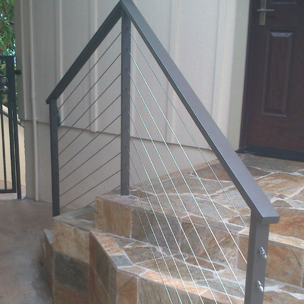 Entrance Cable Railings